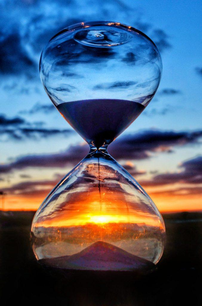imagen del tiempo reloj de arena