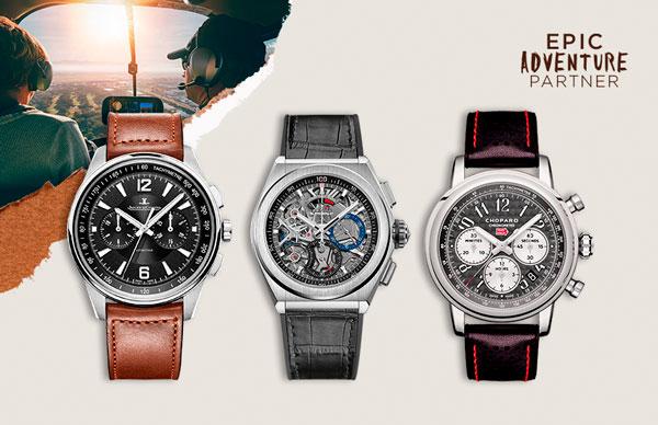 relojes automovilismo y aviación