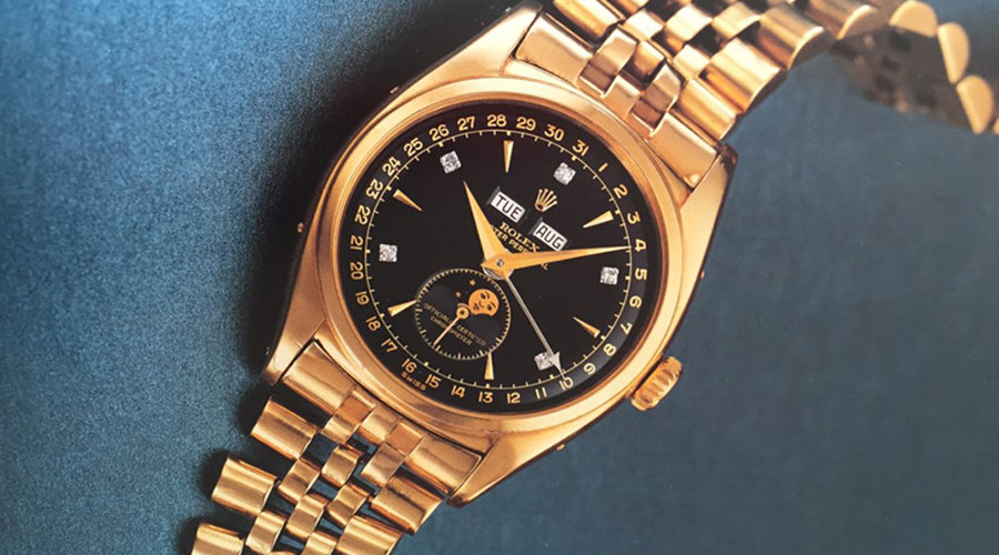 rolex and a new record for the bao dai rolex is synonymous with class