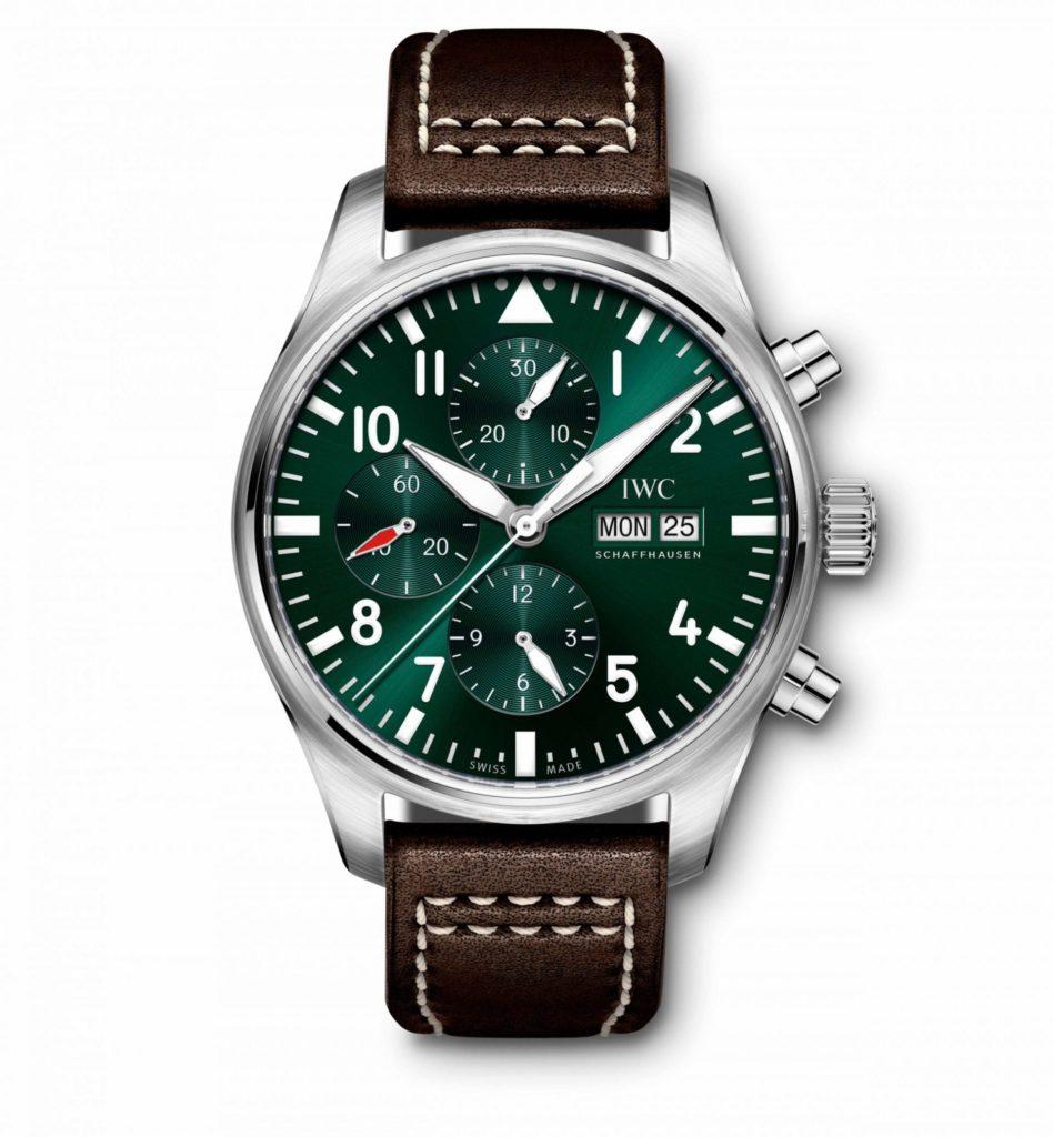 iwc pilot racing green 4