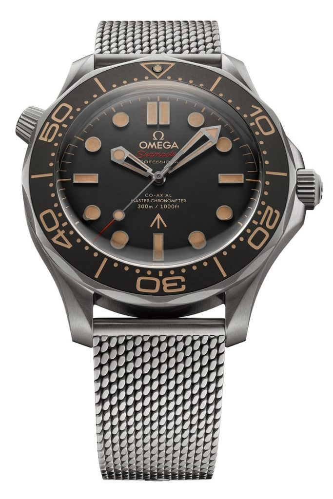 seamaster diver 300m 007 edition mesh