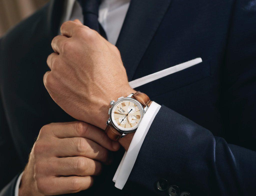star legacy de montblanc 2020 reloj con traje