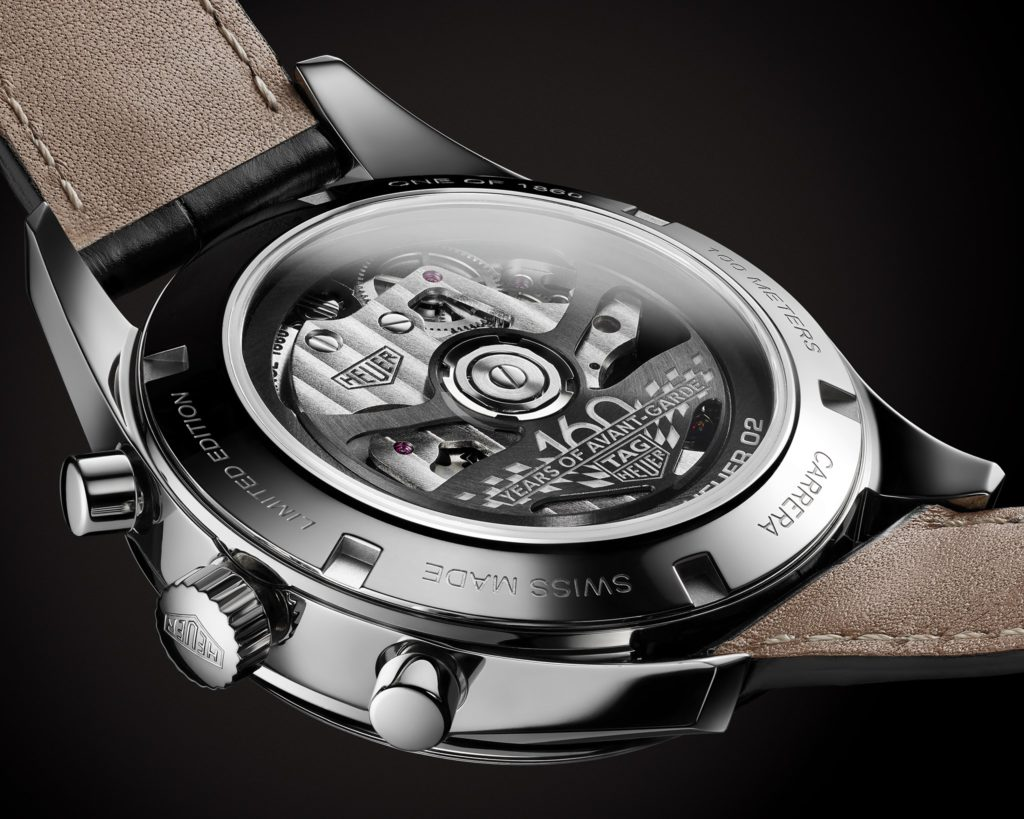 tag heuer carrera 160 years silver limited edition 4