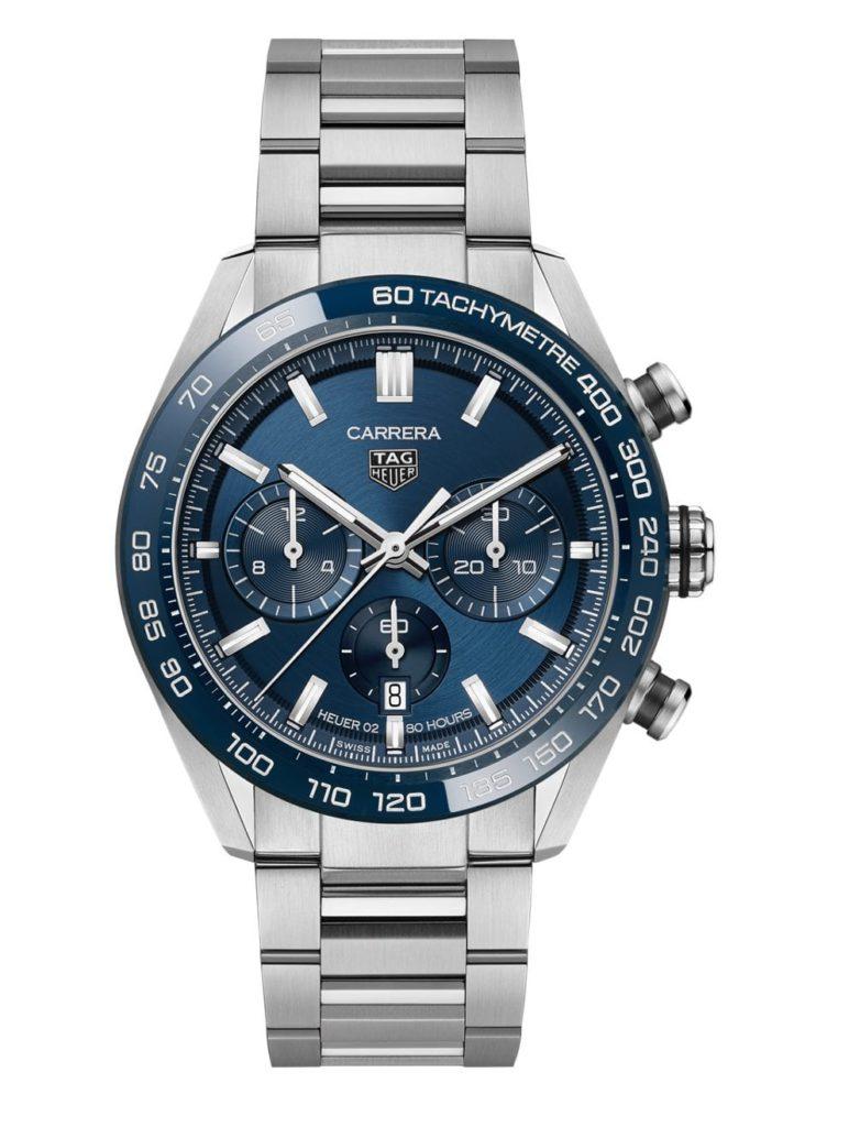 tag heuer carrera chronograph heuer 02 blue pack