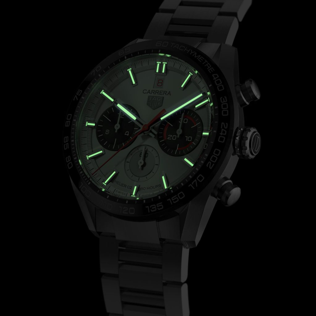 tag heuer carrera sport chronograph 160 years special edition soldier lumen