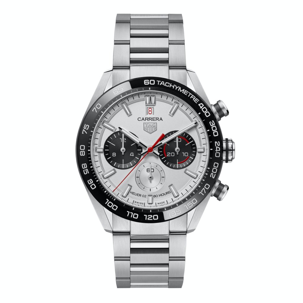 tag heuer carrera sport chronograph 160 years special edition soldier scaled