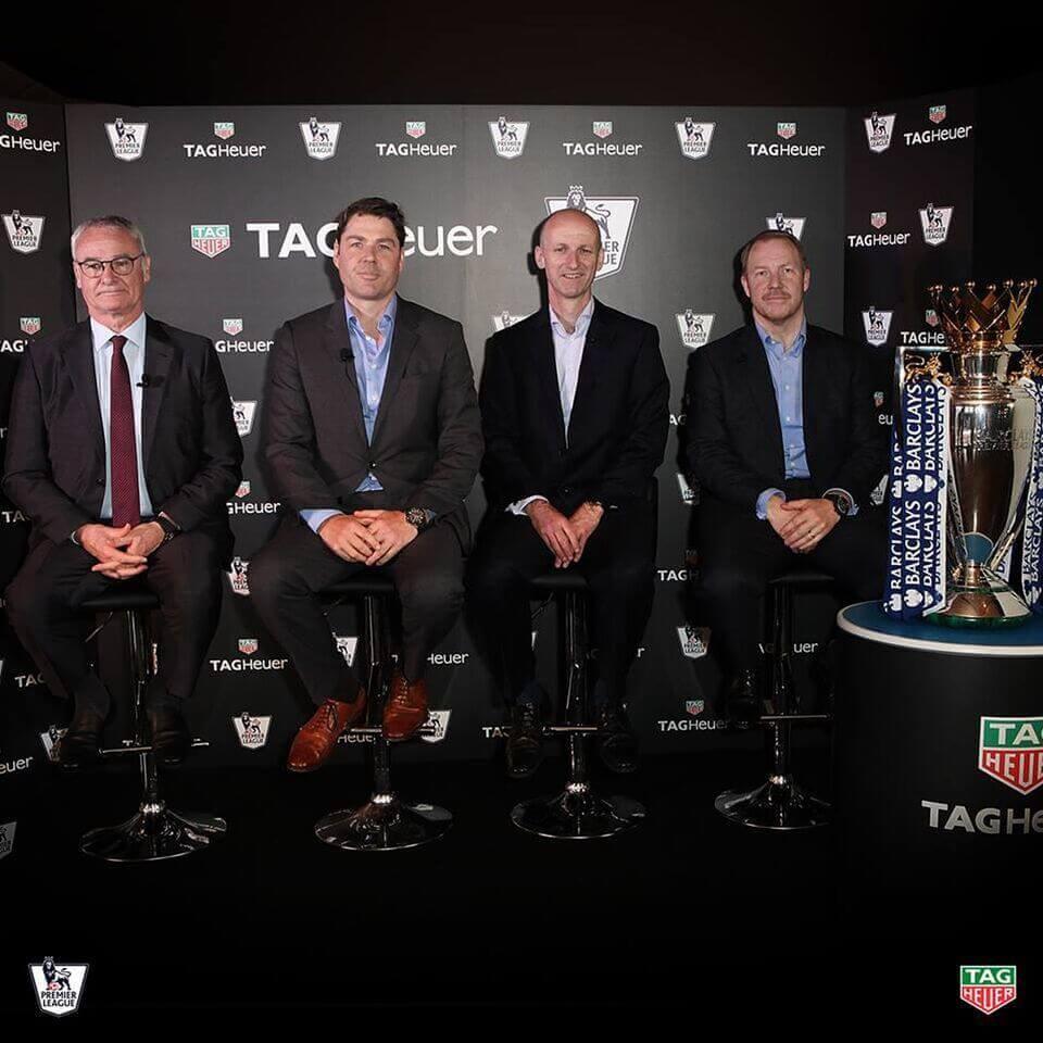 tagheuer cronometrador oficial de la premier league