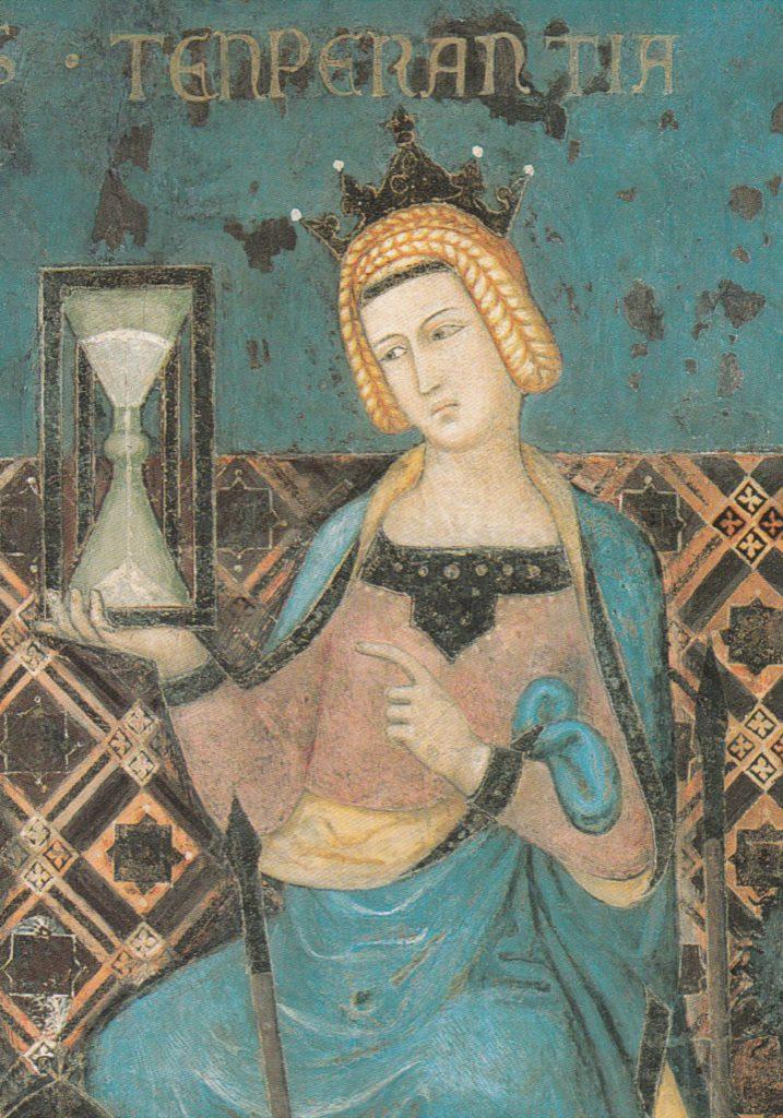 templanza reloj de arena lorenzetti