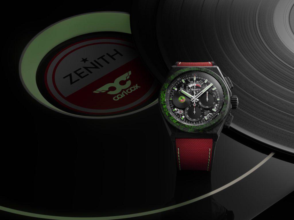 zenith dubai watch week 2020 carl cox dj