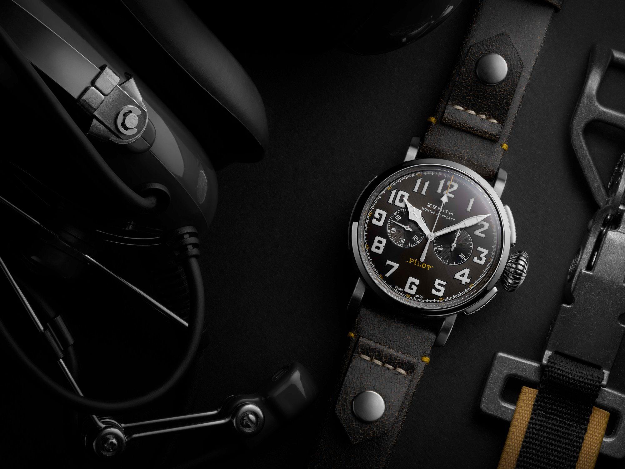 zenith dubai watch week 2020 pilot 20 rescue chronograph
