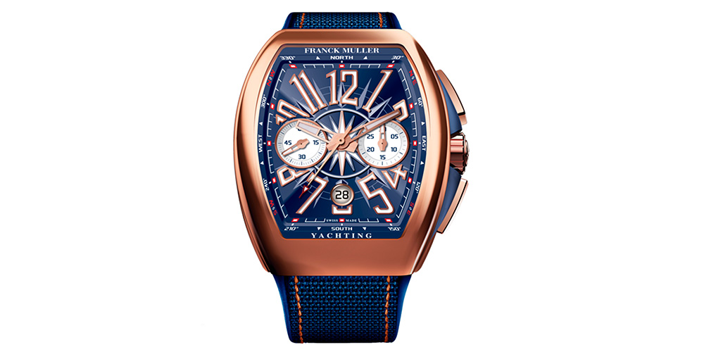 Relojes para hombre Franck MullerVanguard YachtingV45 CC DT YACHTING 5N.BL