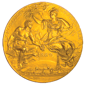 history medaille