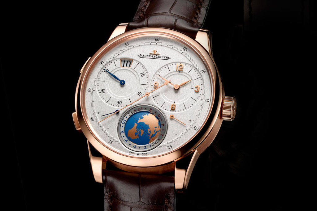 jaeger lecoultre duometre unique travel time slider