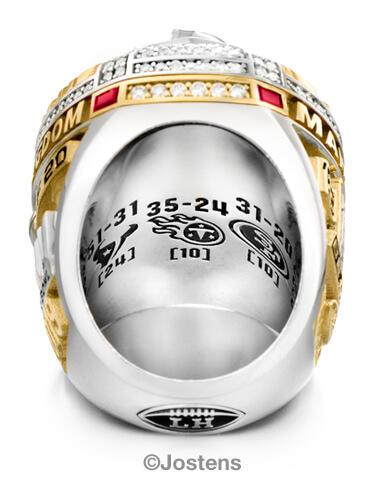 kansas city chiefs champ ring arbor