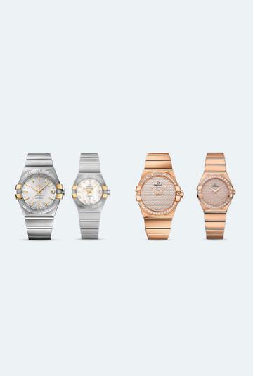 relojes en pareja omega