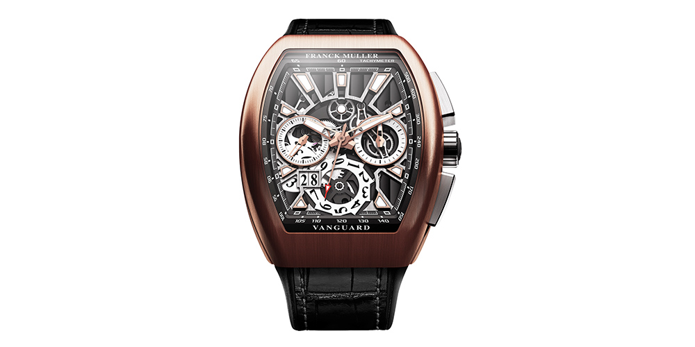 Relojes para hombre Franck MullerVanguard Grand DateV45 CC DT GD SQT 5N.NR