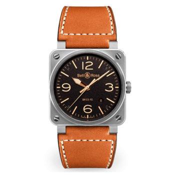 Relojes para hombre Bell & RossAviatonBR0392-ST-G-HE/SCA/2