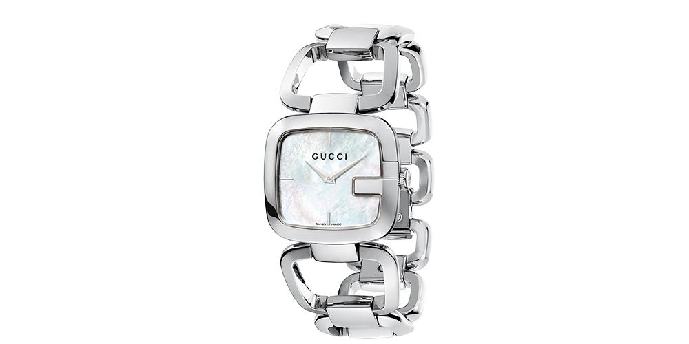 Relojes para mujer GucciG Plateado