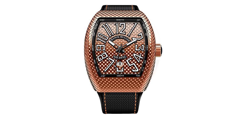 Relojes para hombre Franck MullerVanguard PXLV45 SC DT GOLD PXL 5N.NR