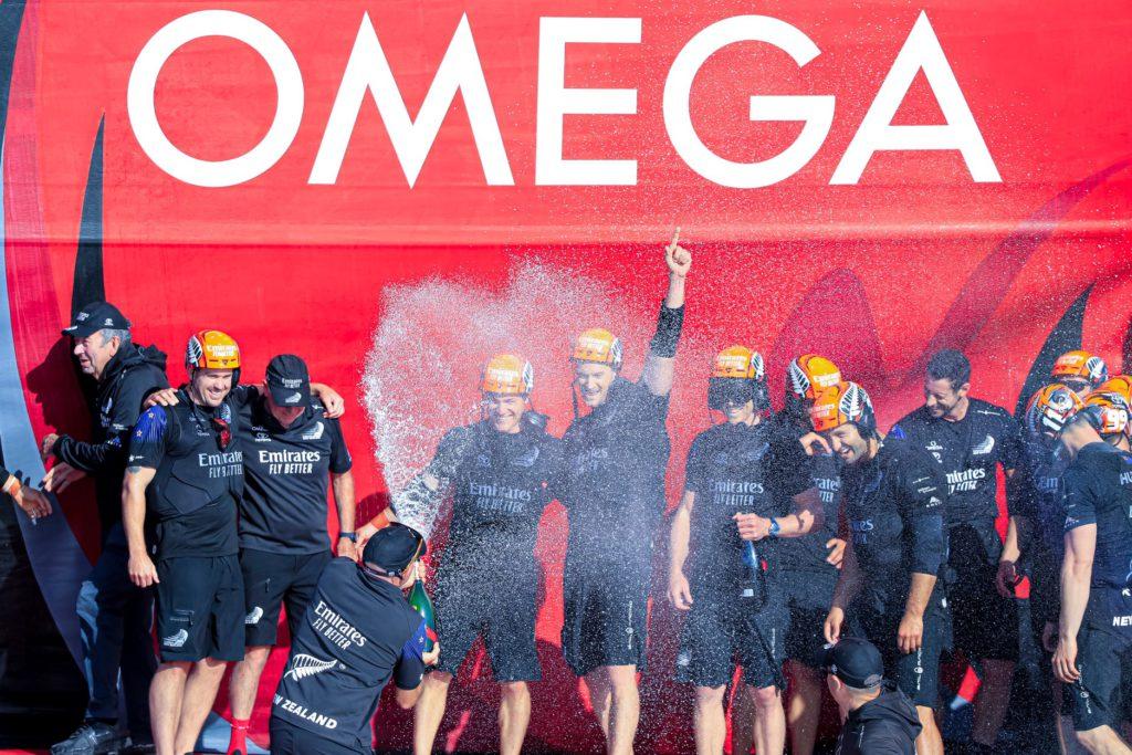 ETNZ, cronometrado por Omega, ganó la 36ª America´s Cup