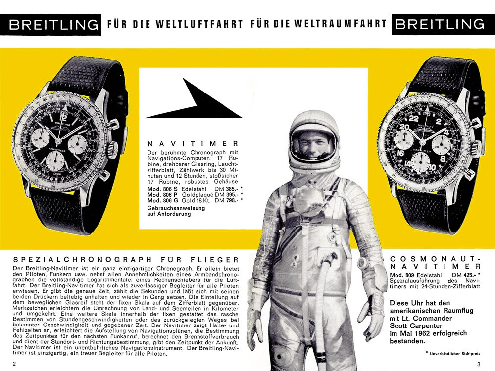 Esta es la historia de Breitling
