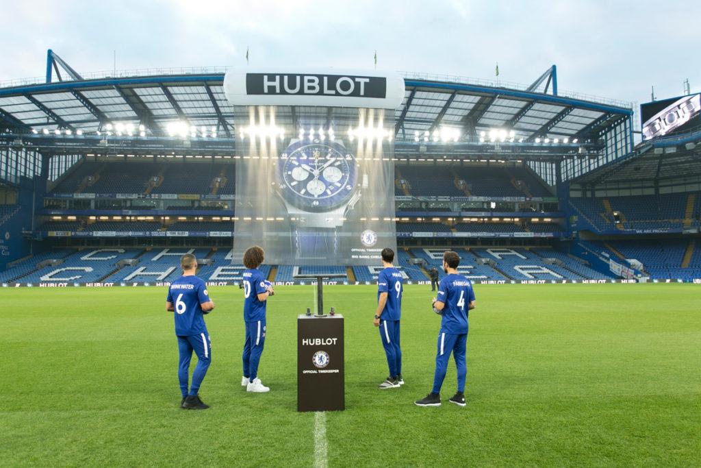 "Hublot y Chelsea ""juegan"" la final de la Champions League"
