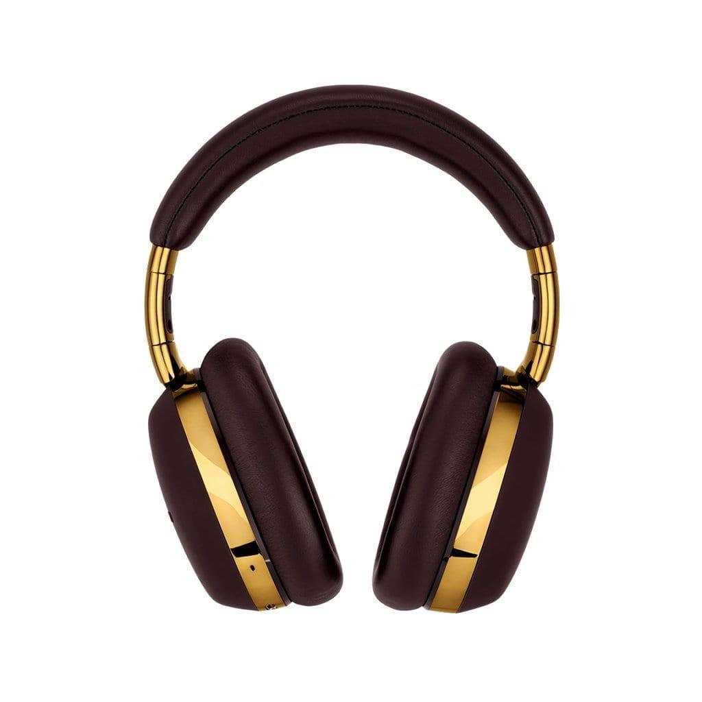 MONTBLANC </br/> Smart Travel Over-Ear Headphones Brown </br/> 127666