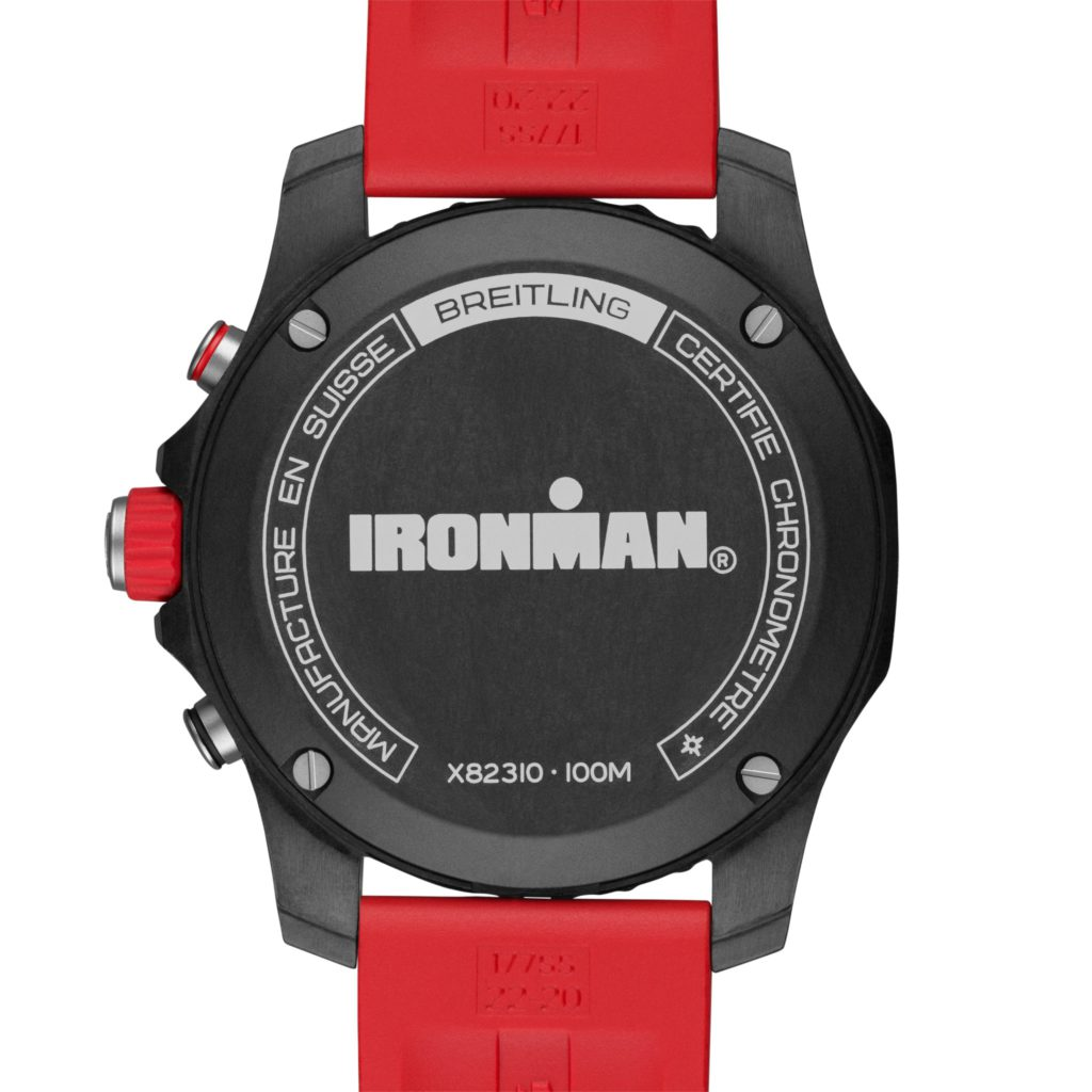 """Breitling crea un par de piezas para los """"hombres de hierro"""": Endurance Pro Ironman,"""