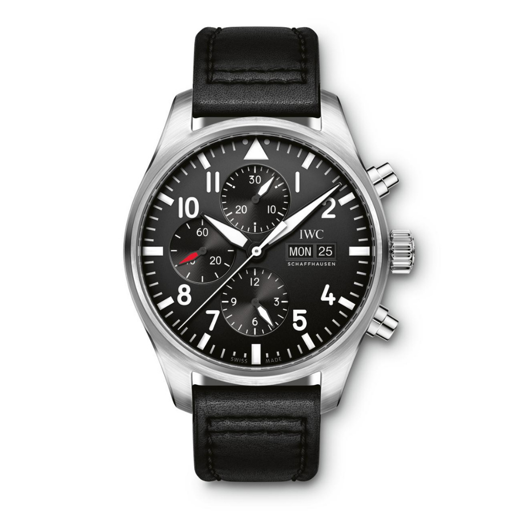 IWC Schaffhausen </br>Reloj De Aviador Cronógrafo </br>IW377709