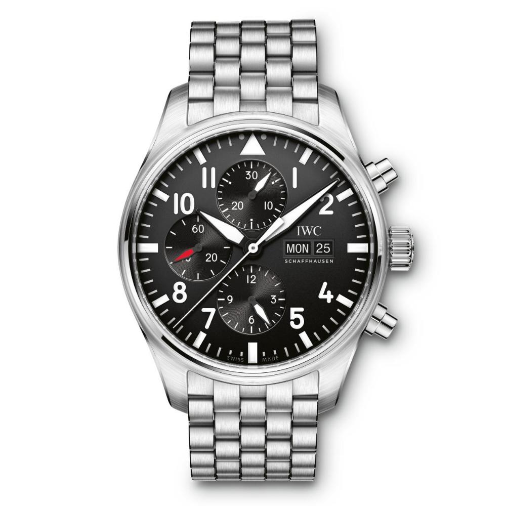 IWC Schaffhausen </br>Reloj De Aviador Cronógrafo </br>IW377710