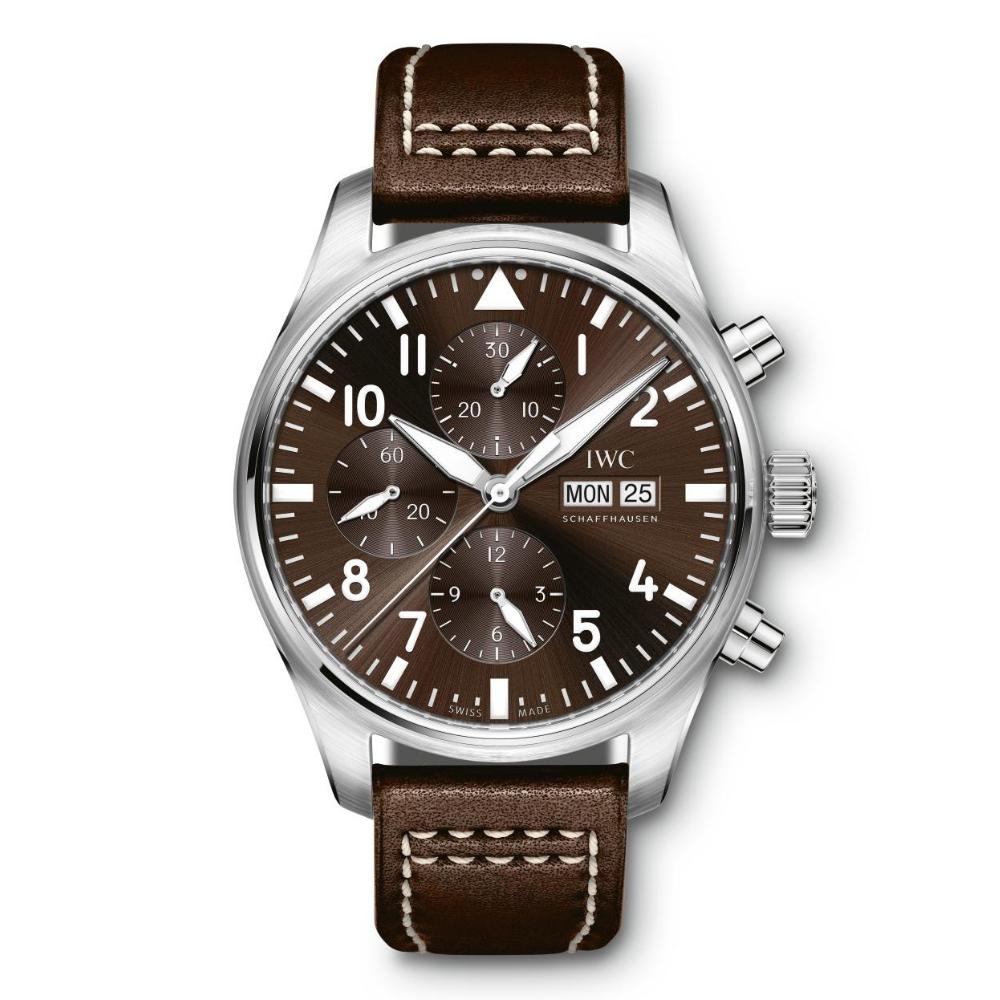 IWC Schaffhausen </br>Reloj De Aviador Cronógrafo Edición Antoine De Saint Exupéry </br>IW377713