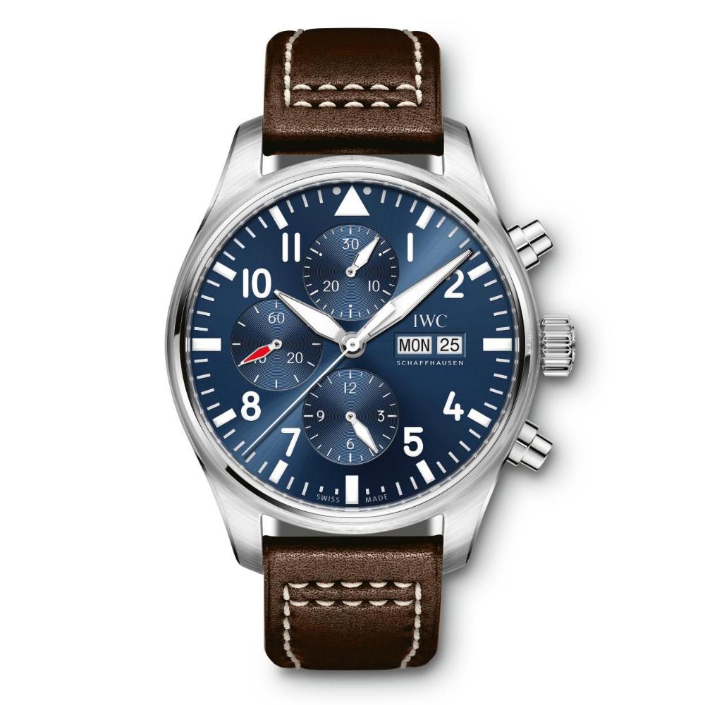 IWC Schaffhausen </br>Reloj De Aviador Cronógrafo Edición Le Petit Prince </br>IW377714