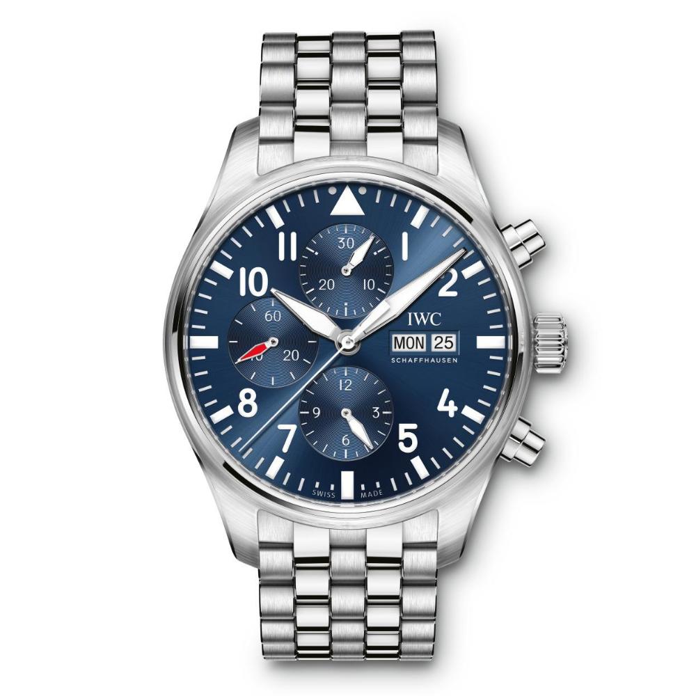 IWC Schaffhausen </br>Reloj De Aviador Cronógrafo Edición Le Petit Prince </br>IW377717