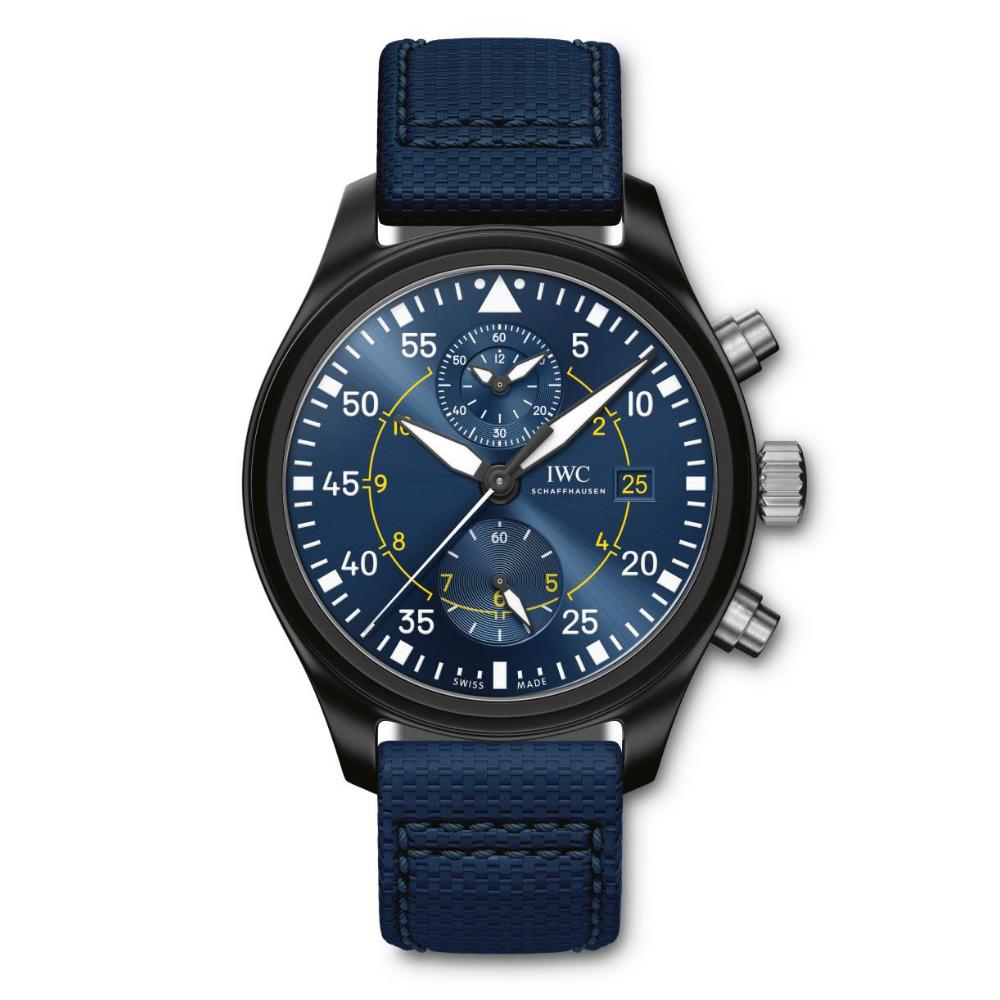 IWC Schaffhausen </br>Reloj De Aviador Cronógrafo Edición Blue Angels </br>IW389008