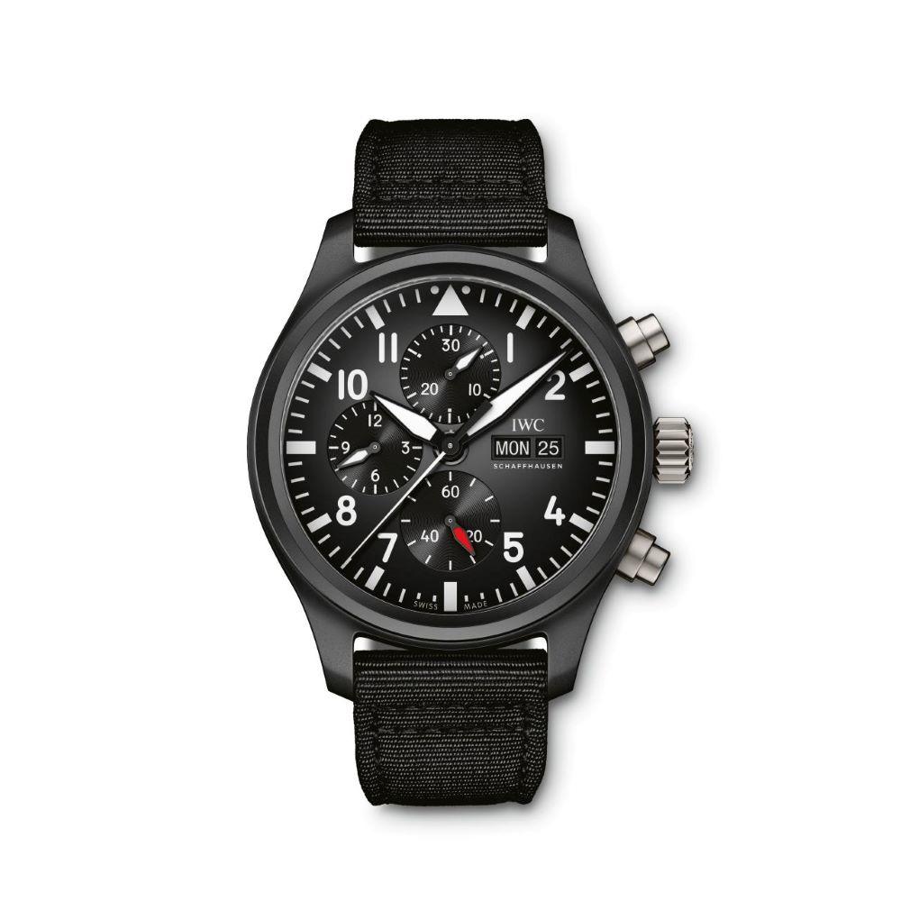 IWC Schaffhausen </br>Reloj De Aviador Cronógrafo Top Gun </br>IW389101