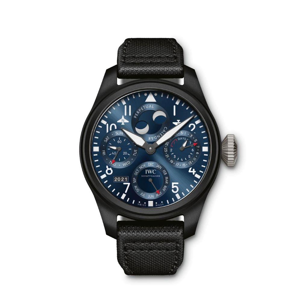 IWC Schaffhausen </br>Gran Reloj De Aviador Calendario Perpetuo Edición Rodeo Drive </br>IW503001