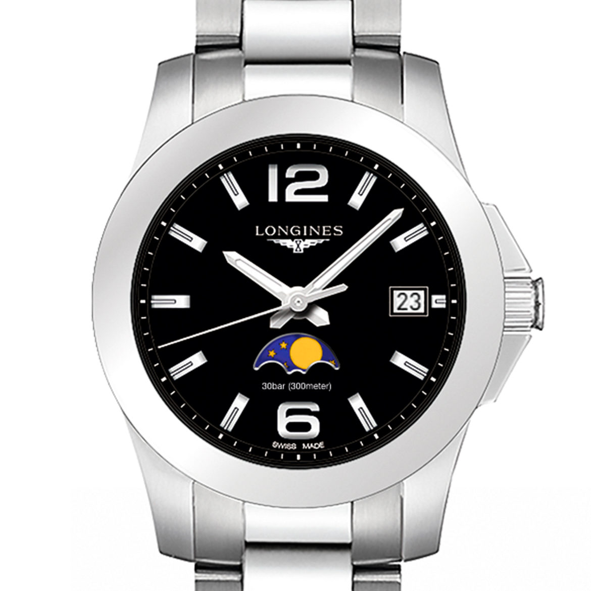 LONGINES</br/>Conquest Moonphase</br/>L33814586