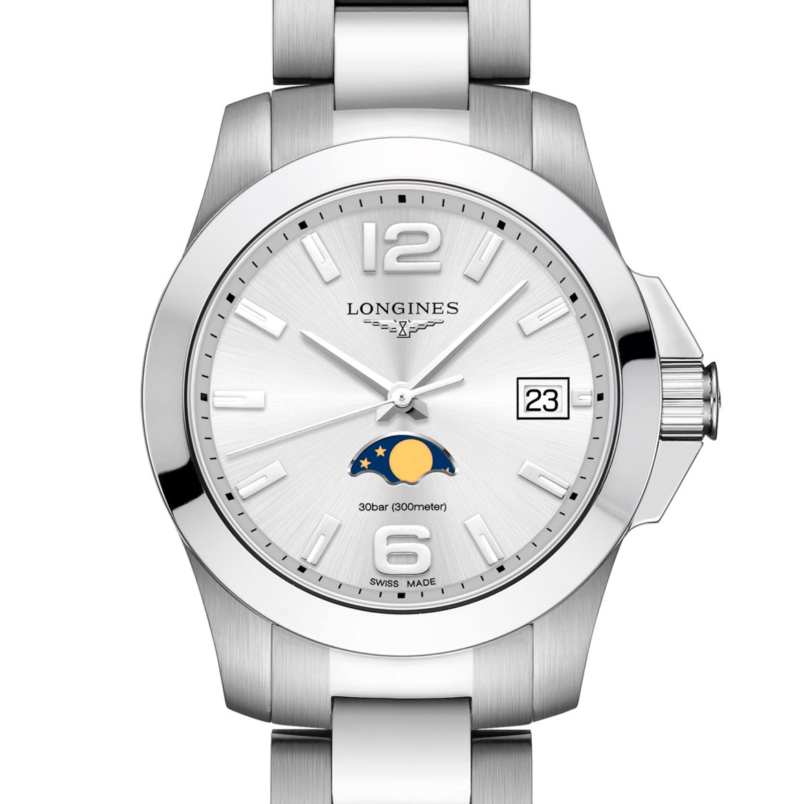 LONGINES</br/>Conquest Moonphase</br/>L33814766