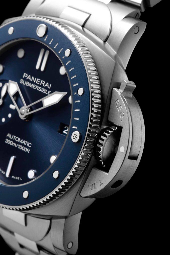 Panerai Submersible Blu Notte ¡Un buzo hasta fuera del agua!