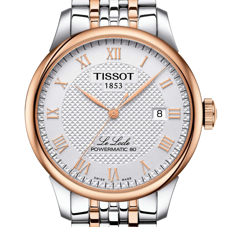 TISSOT </br/> Le Locle Powermatic 80</br/>T0064072203300
