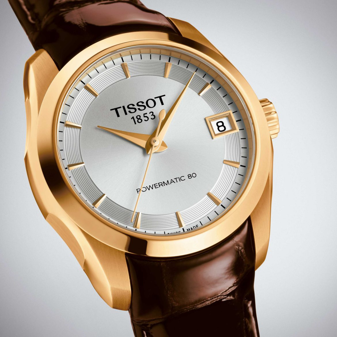 TISSOT</br/> Couturier Powermatic 80 Lady</br/> T0352073603100