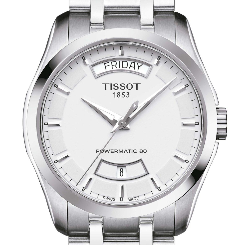 TISSOT</br/>Tissot Couturier Powermatic 80</br/>T0354071103101