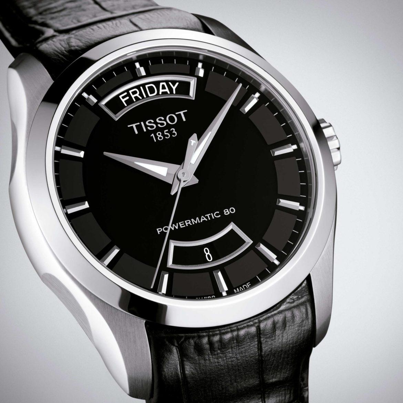 TISSOT</br/>Tissot Couturier Powermatic 80</br/>T0354071605102