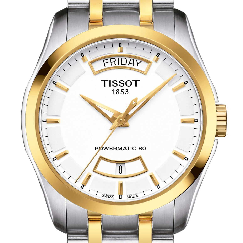 TISSOT</br/>Tissot Couturier Powermatic 80</br/>T0354072201101
