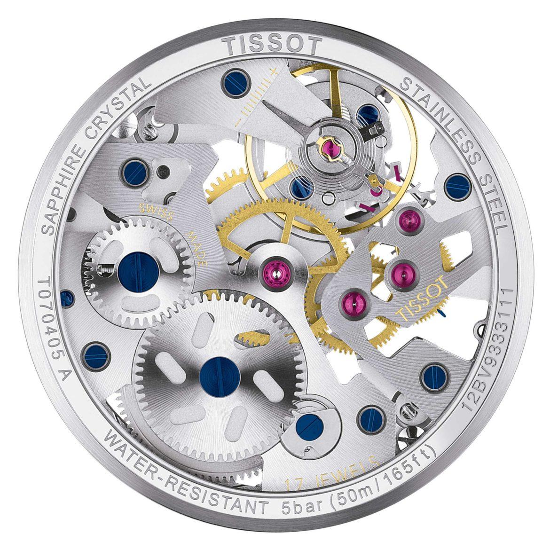 TISSOT</br/>Tissot T-Complication Squelette Mechanical</br/>T0704051641100