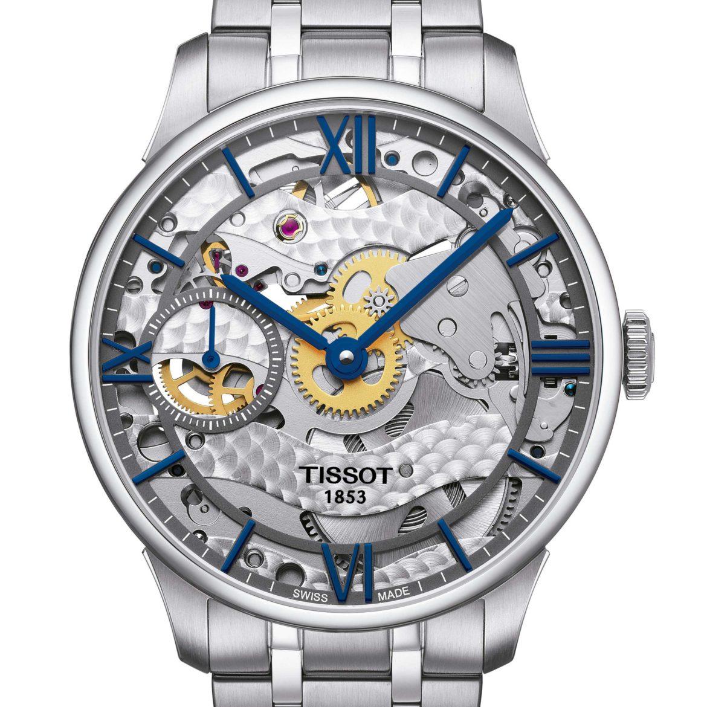 TISSOT</br/>Tissot Chemin des Tourelles Squelette Mechanical</br/>T0994051141800