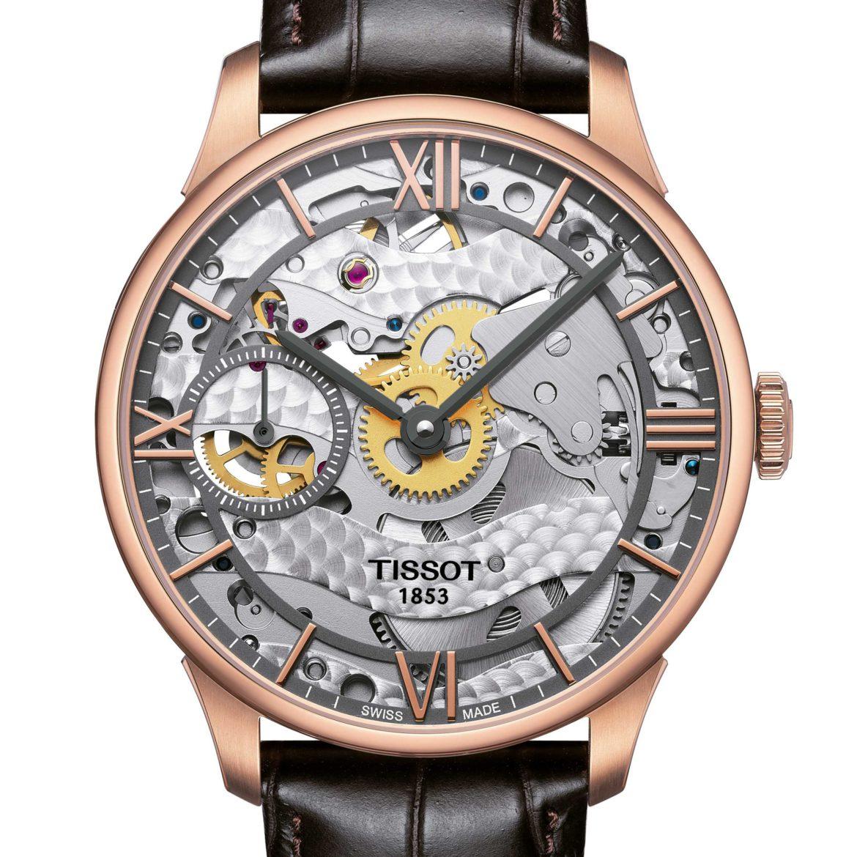 TISSOT</br/>Tissot Chemin des Tourelles Squelette Mechanical</br/>T0994053641800