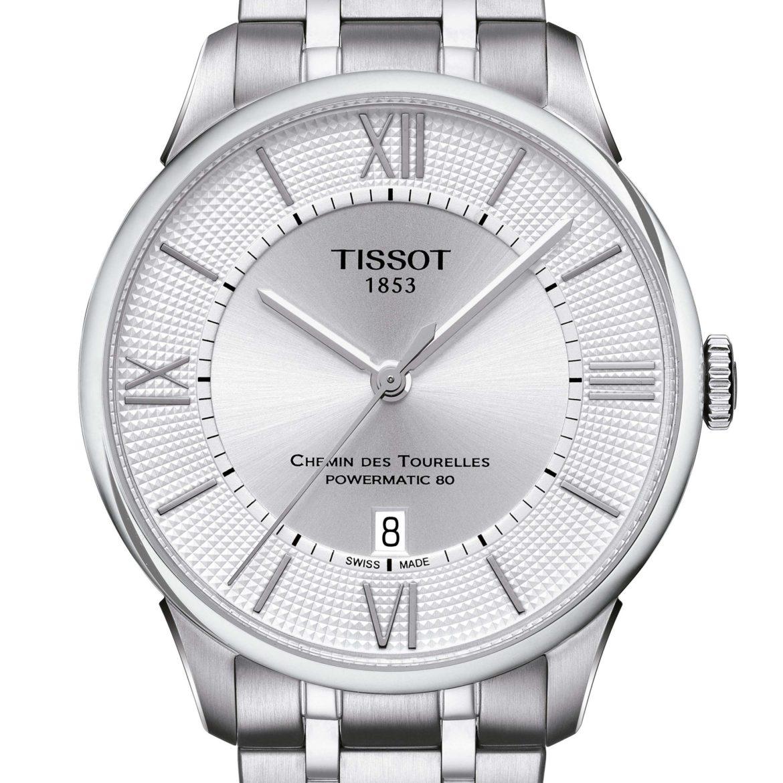 TISSOT</br/>Tissot Chemin des Tourelles Powermatic 80</br/>T0994071103800