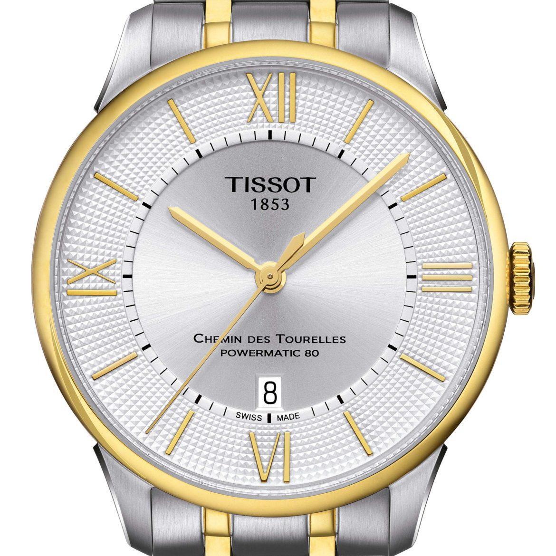 TISSOT</br/>Tissot Chemin des Tourelles Powermatic 80</br/>T0994072203800