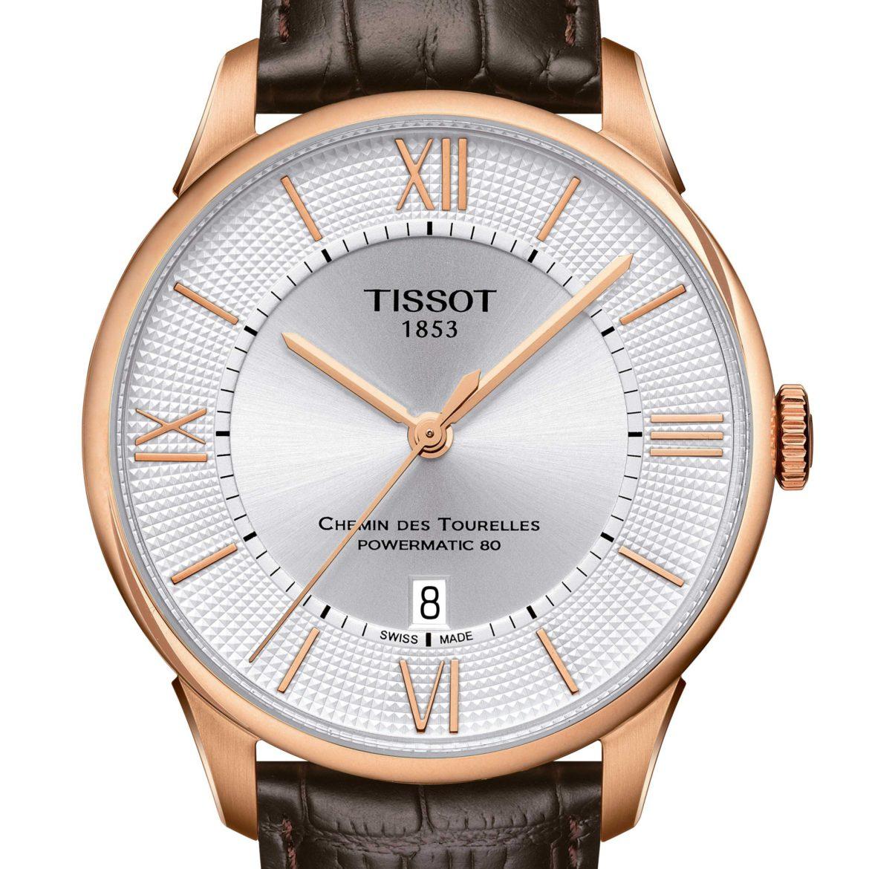 TISSOT</br/>Tissot Chemin des Tourelles Powermatic 80</br/>T0994073603800